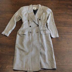 1980s coat dress